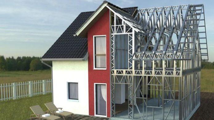 Totul despre casele pe structura metalica