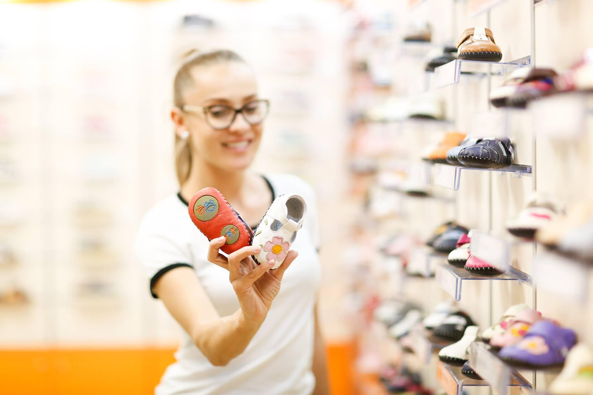 Dezvoltarea piciorului copilului si importanta pantofilor potriviti
