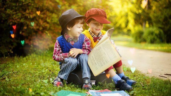 Importanta cartilor pentru copiii mici